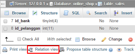 link_relation_view_phpmyadmin4.0