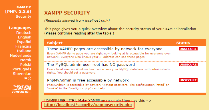 halaman_security_xampp
