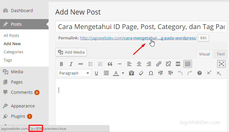 cara_mengetahui_id_post_wordpress_new
