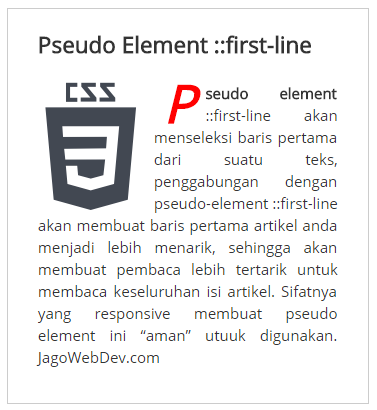 pseudo_element_first_line_dengan_element_break