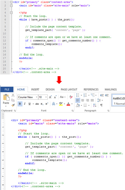 Plugin Notepad++ - Npp Export