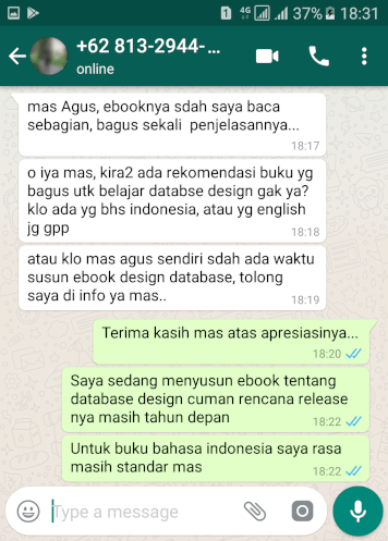 Testimoni Ebook Query MySQL